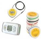 Automatiske termometre med hukommelse