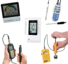 Fugtmåler, pH og CO / CO2 produkter