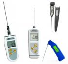 Digitale termometre med fastmonteret måleprobe