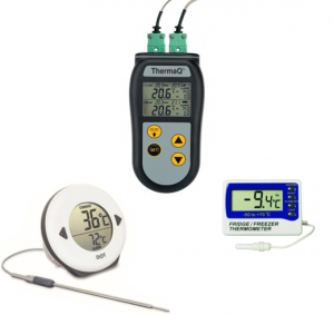 Termometre med ALARM funktion
