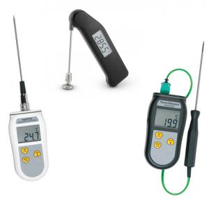 Håndholdte termometre