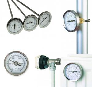 Analoge industrielle termometre