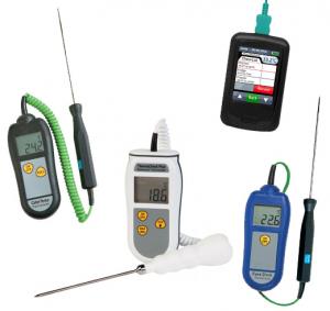 Digitale termometre med lednings-måleprobe
