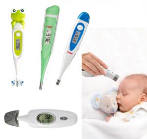 Feber- bad- og børnetermometre