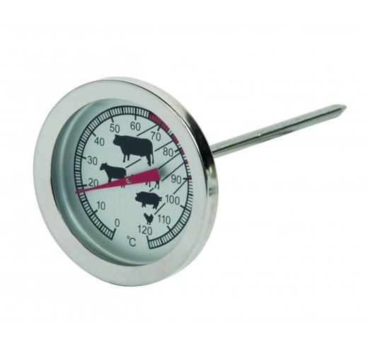 ETI-800-804 Ø45 mm dial meat roasting thermometer Ø4 x 105 mm stem   Ovn-termometre   ETI-800 ...