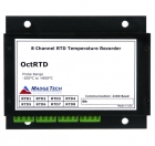 MaT-OctRTD  8-Channel, 100 Ohm RTD based Temperature Recorder