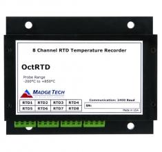MaT-OctRTD  8-Channel, 100 Ohm RTD based Temperature Recorder