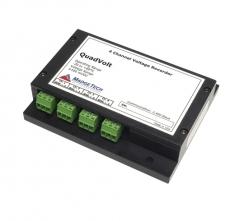 MaT-QuadVolt-100mV  4-Ch, Low Level, differential input, DC Voltage Recorder