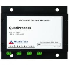 MaT-QuadProcess  4 Channel DC Current Recorder