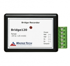 MaT-Bridge120-10mV  20Hz Strain Gauge Recorder w/ -10mV to 10mV Range