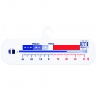 ETI-803-050  horizontal spirit-filled fridge or freezer thermometer