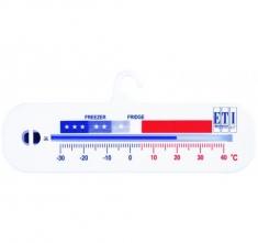 ETI-803-050  horizontal spirit-filled fridge or freezer thermometer