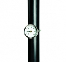 ETI-800-971  Ø60 mm pipe thermometer - 53 mm spring 0 to 120 °C