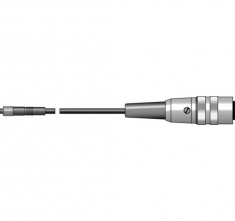 ETI-172-015  logger extension lead, 150 mm PVC lead