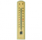 ETI-803-292  205 mm traditional spirit-filled room thermometer - wooden