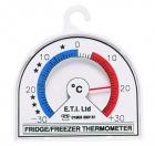 ETI-800-000  Ø70 mm dial bi-metal fridge or freezer thermometer