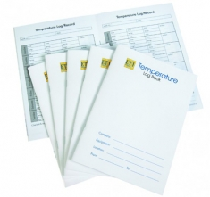 ETI-831-100  temperature record/log book