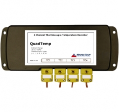 MaT-QuadTemp  4-Channel, TC based Temp Recorder