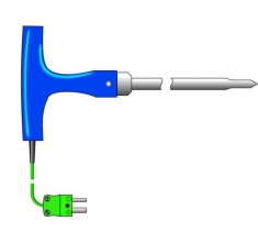 ETI-133-136  extra long heavy duty needle probe