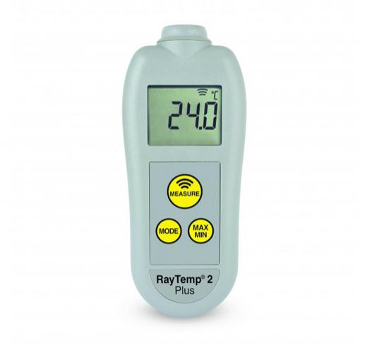 ETI-228-120  RayTemp2-Plus IR thermometer with adjustable emissivity