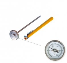 ETI-800-813  Ø25 mm dial thermometer 0 to 250 °C