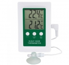 ETI-810-080 In/Out door Min/Max Alarm Thermometer with ext probe