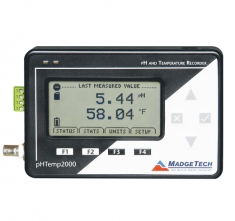 MaT-pHTemp2000  pH and Temperature Recorder with LCD Display