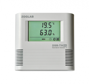 ZG-DSR-TH-UA Datalogger med intern sensor for Fugt og Temperatur