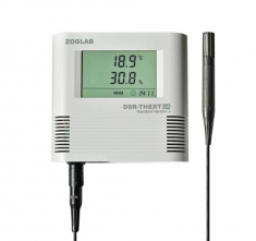 ZG-DSR-THEXT-UA Datalogger med ekstern sensor for Fugt og Temperatur
